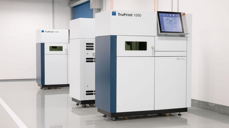 通快发布最快的牙科3D打印机 多激光加工比传统方法快十倍