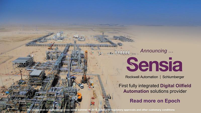 罗克韦尔自动化与斯伦贝谢成立合资公司Sensia 将成为油气行业首家全集成自动化解决方案提供商
