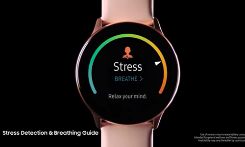 三星官方公布可穿戴设备:Galaxy Watch Active/Fit
