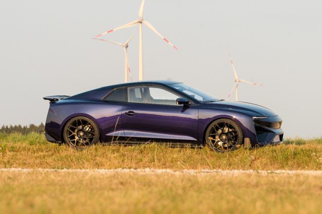 爱驰汽车氢燃料电池超跑续航1000公里,将日内瓦车展亮相