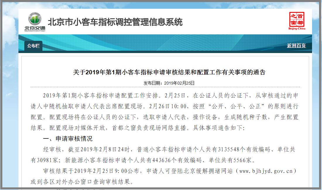 中签难度再攀高!北京新能源车申请人破44万,需等8年!