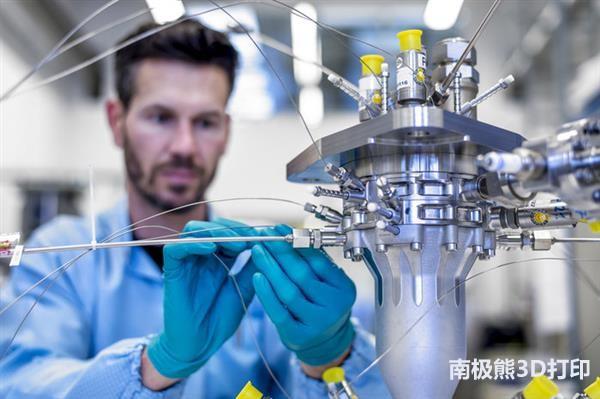 ESA完成了3D打印BERTA火箭发动机的首次点火试验