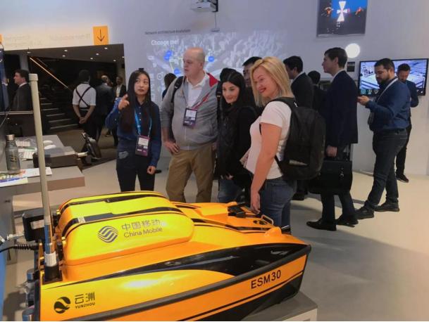 云洲智能5G无人船成世界移动通信大会焦点
