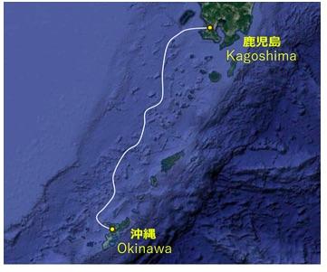 连接冲绳和鹿儿岛的海底光缆系统筹建