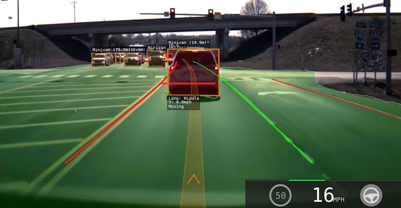 完全自动驾驶又近了一步 特斯拉推停车线检测功能