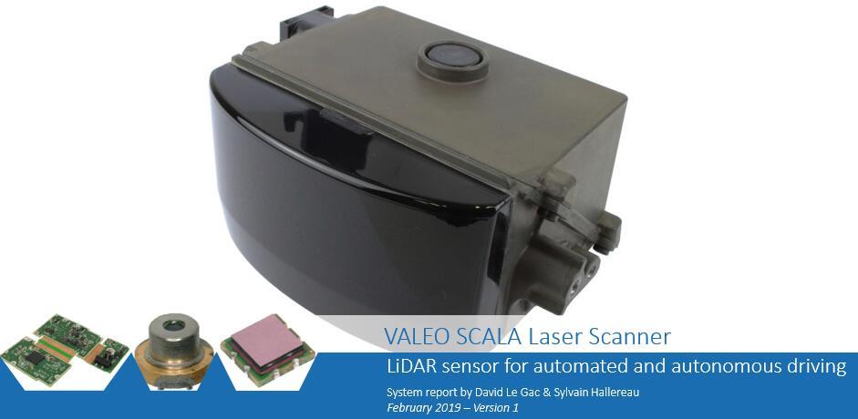 法雷奥SCALA激光扫描仪:唯一量产的车规级激光雷达