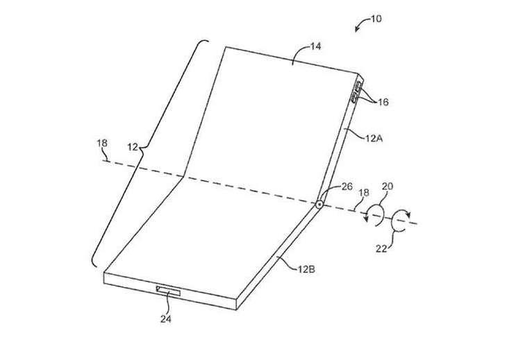 iPhone 折叠屏手机发布? 采用苹果专利还是三星显示屏