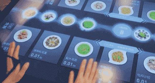 未来智能餐厅 陪伴我们度过每一分