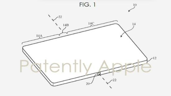 新专利曝光:可折叠iPhone可能具有自动加热显示屏