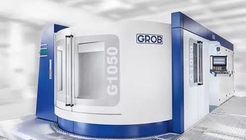 格劳博GROB机械制造:全方位灵活性