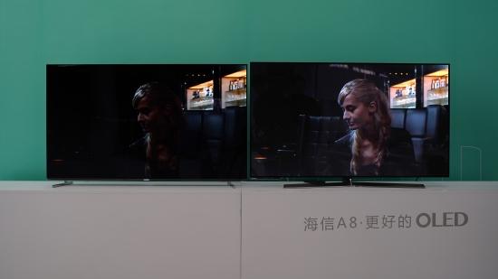 海信OLED的自信:定能快速取得像在彩电市场一样的地位