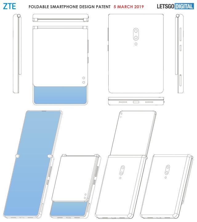 中兴可折叠手机是怎么回事?中兴可折叠手机长什么样?