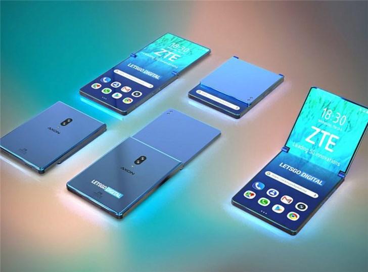 中兴可垂直折叠智能手机专利曝光:类似翻盖机