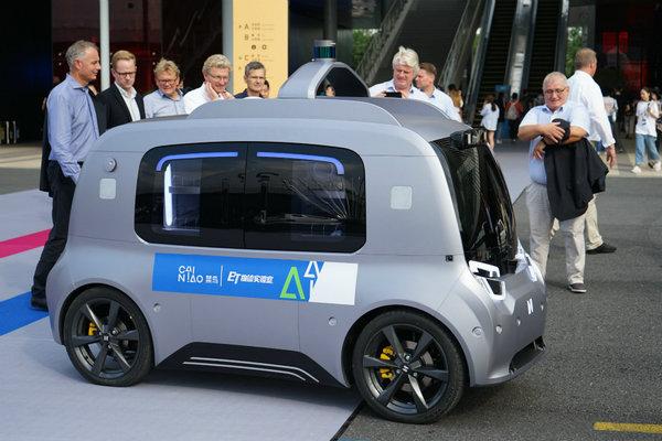 阿里46亿投资申通, 无人物流车加速到来