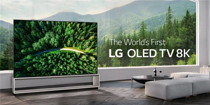 LG将在2019AWE发布旗下首款8K OLED电视