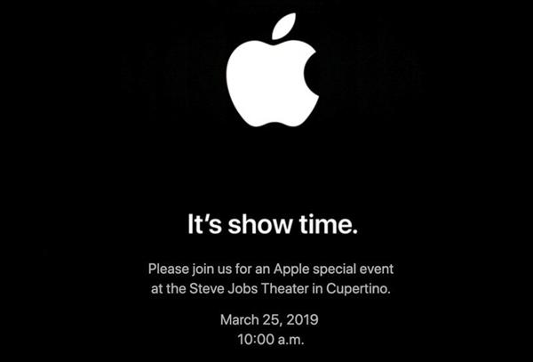 苹果将在3月25日举行发布会:主角可能不是硬件