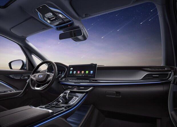 吉利首款MPV嘉际上市,支持L2级智能驾驶
