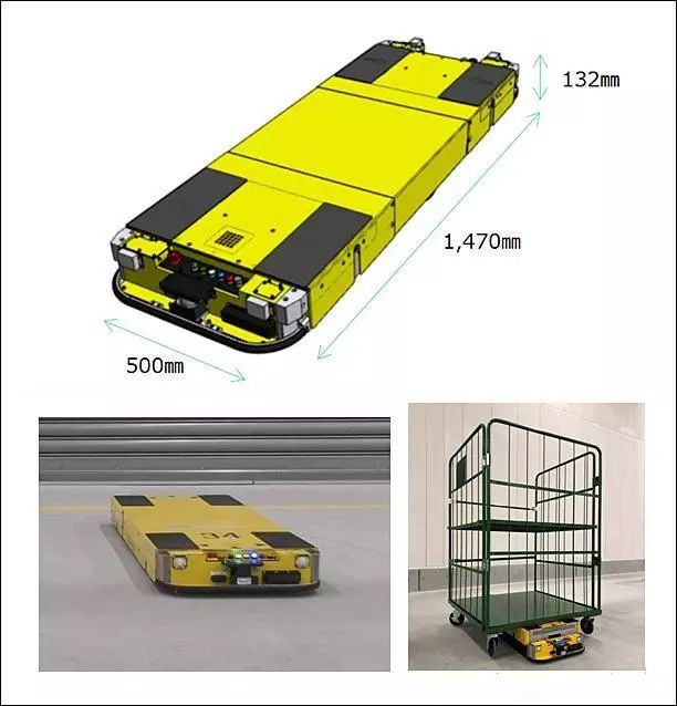 松下电器发售用于台车移动的AGV机器人