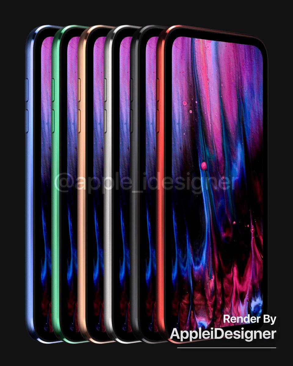 对,我想要的真·全面屏iPhone就像这个样子