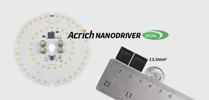 """首尔半导体Acrich NanoDriver荣获美国技术大奖——""""Sapphire Award 2019"""""""