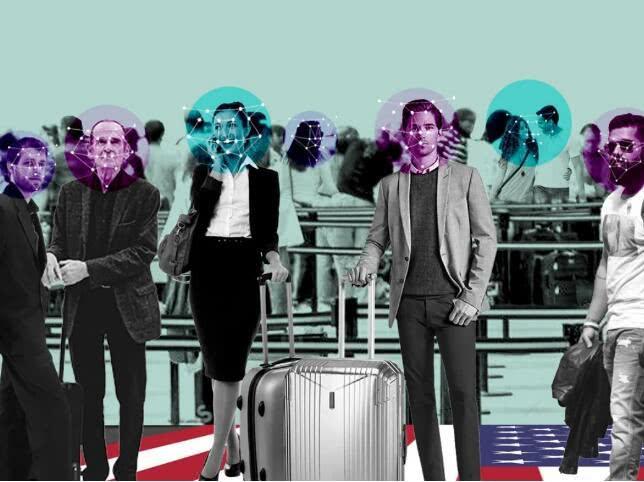 美国政府将在全美20大机场启用人脸辨认