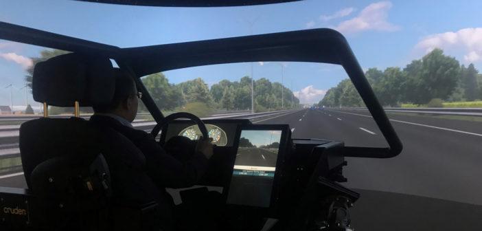 高保真驾驶模拟器助力自动驾驶系统研究