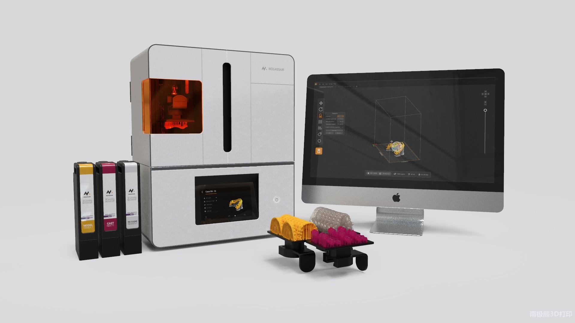 埃及3D打印公司Mogassam发布牙科专用DLP 3D打印机