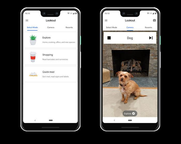 谷歌正式推出Lookout应用 让AI帮助视力障碍者识别物体和文字