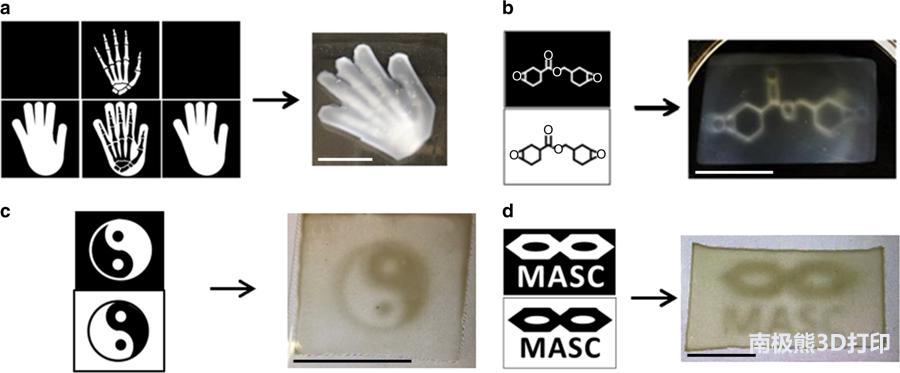 新技术:多种波长的光源 同时3D打印多种光敏树脂材料