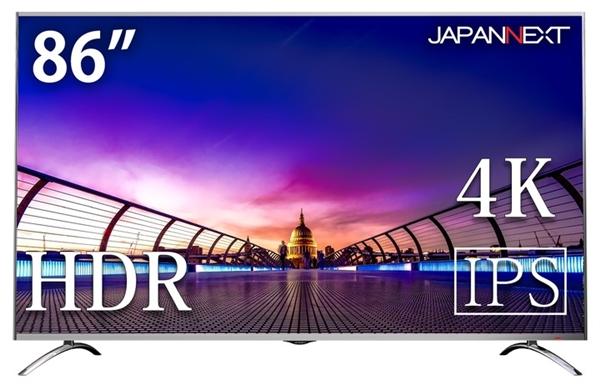 86英寸4K!日本JapanNext推巨无霸显示器