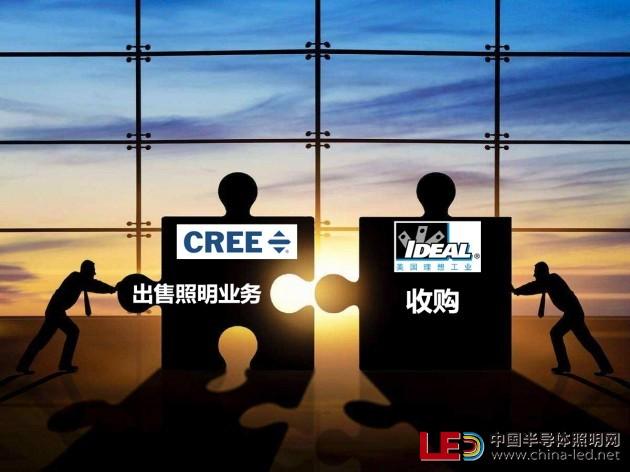 CREE旗下照明业务将出售给美国理想工业公司