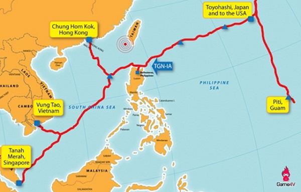 因国际海缆维修 越南互联网连接受严重影响