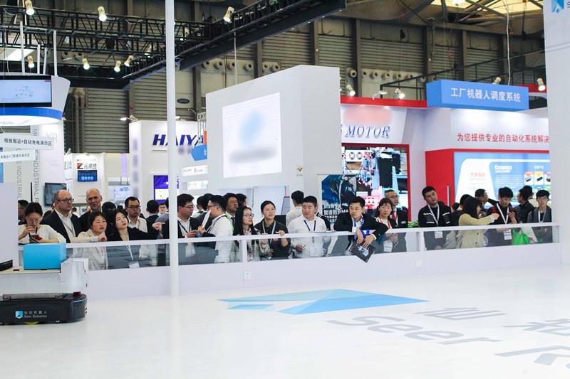 【Productronica China2019】电子智造物流核心技术尽在仙知机器人
