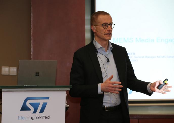 万物智能时代,ST高精度MEMS解决方案助力产品智能化