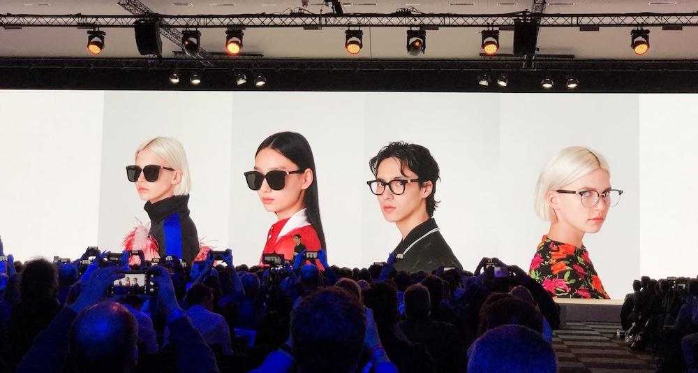 华为公布与韩国太阳镜品牌Gentle Monster合作的智能眼镜