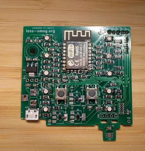 简单直观,工程师自制空气污染传感器