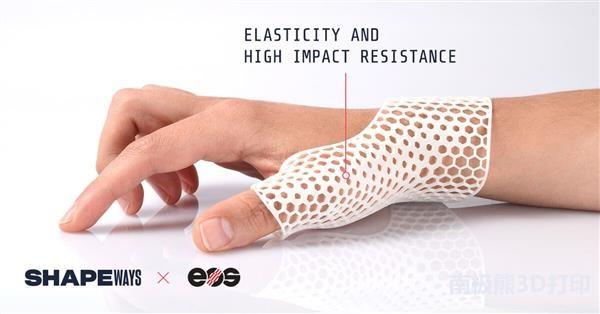两大3D打印巨头Shapeways和EOS合作进军矫形器和假肢市场
