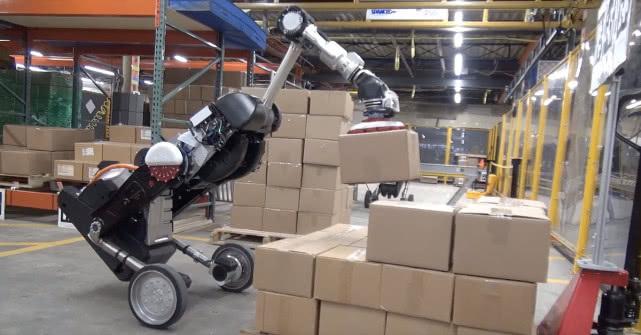 波士顿动力再秀肌肉 新版Handle可轻松装卸货物
