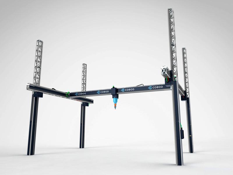 比利时Kamp C购买建筑3D打印机 欲现场打印两层楼