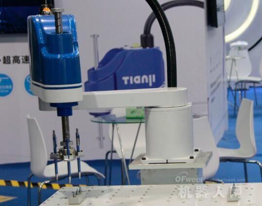 中国机器人市场放缓,SCARA超40%以上市场增速突围