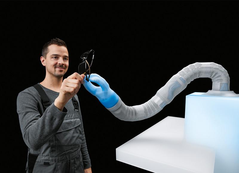 气动机器人遇上人工智能 Festo展示仿生新项目