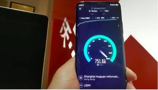 中国联通5G终端外场实测:最大下载速率可达4G速率6倍多