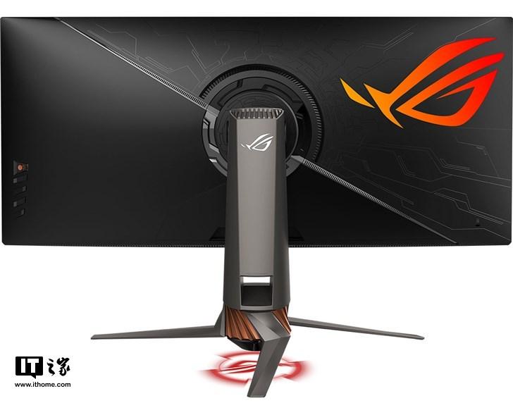 华硕发布ROG带鱼屏曲面显示器:120Hz刷新