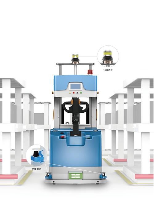 激光测距雷达在仙知机器人中的应用