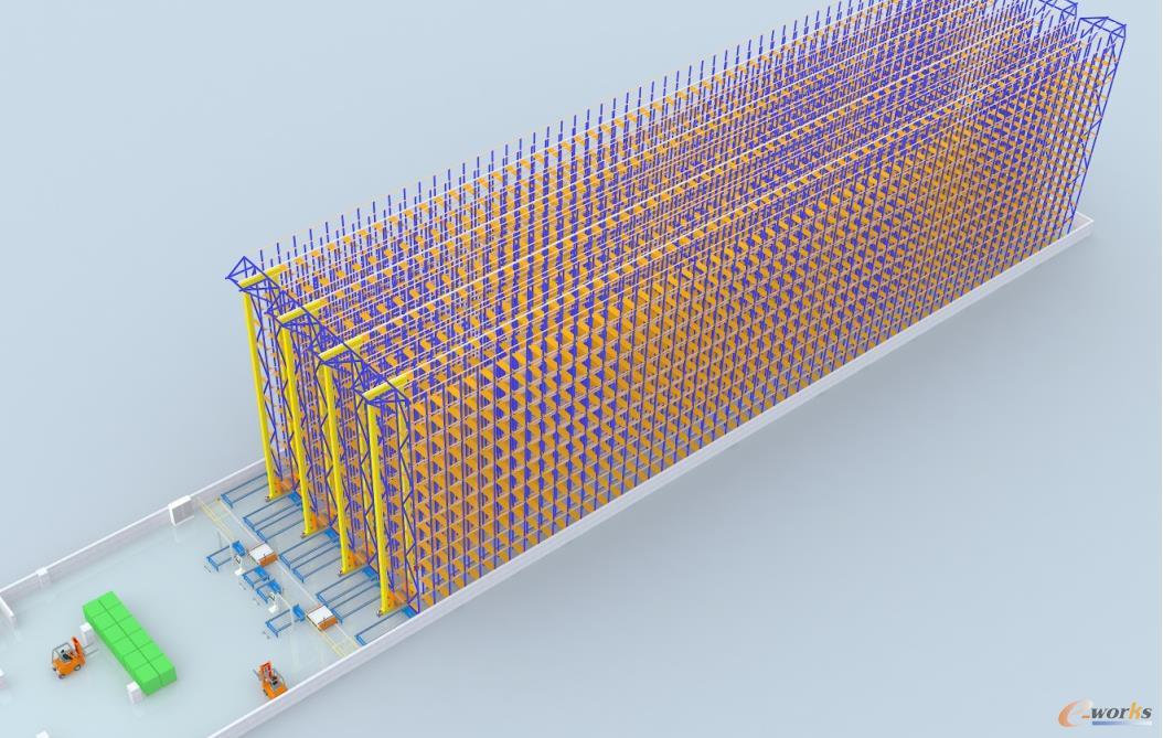 船厂智能仓储与物流管理研究