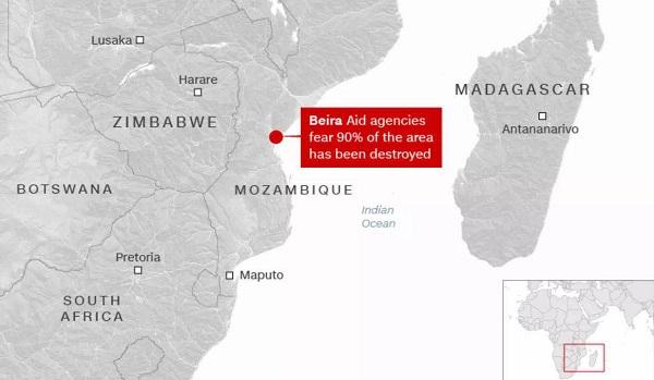 莫桑比克救援!华平应急指挥系统传递在非洲大地的担当