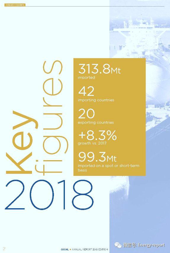 液化天然气(LNG)年度报告2019