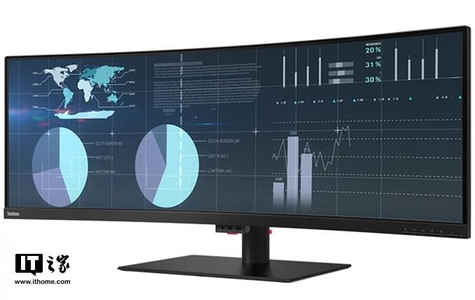 43.4英寸!联想首款超宽屏曲面显示器亮相