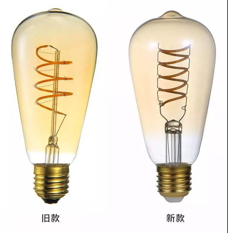 广明源新款柔性灯丝灯亮相香港春灯展