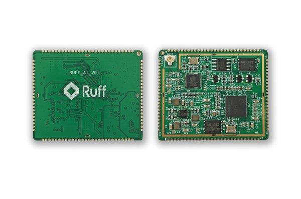 Ruff推出百元以内AIoT人脸识别模组终端